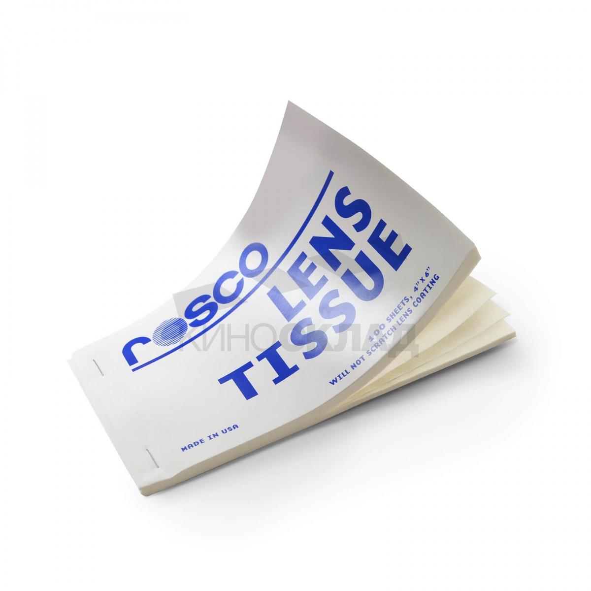 Салфетка Rosco Lens Tissue для  чистки линз 100 шт. LensTissue - доставка по всей России